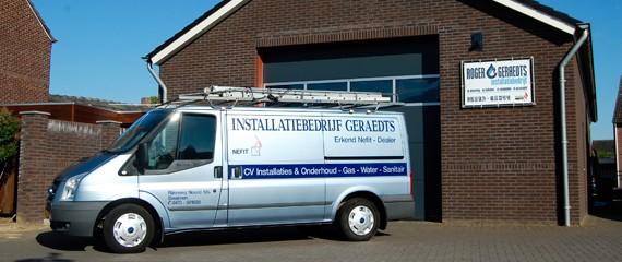 Pand - Roger Geraedts Installatiebedrijf - Swalmen, Limburg
